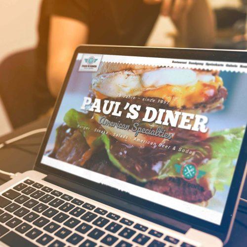 Webdesign Pauls Diner Schweinfurt