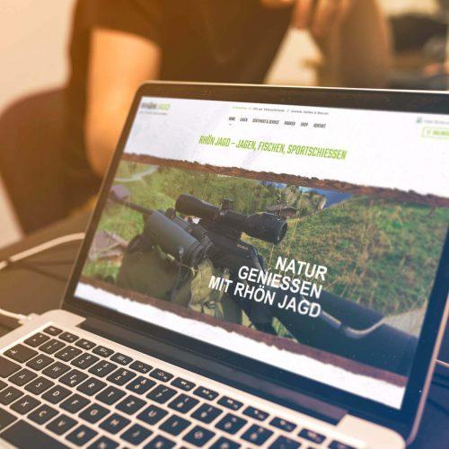 Webdesign Rhönjagd Mellrichstadt