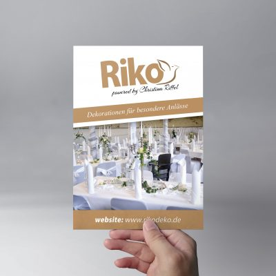 Riko Flyer Design