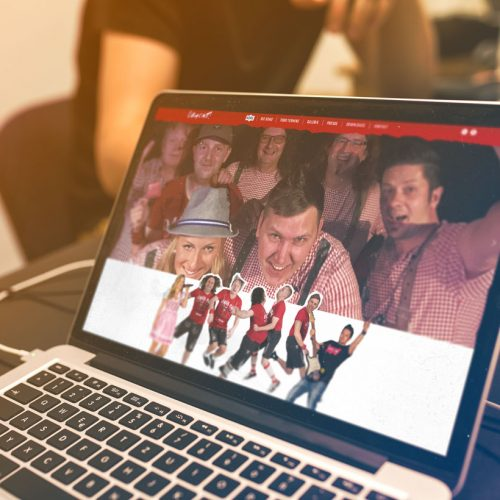Webdesign Band Obacht