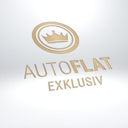 Logodesign Autoflat Exklusiv