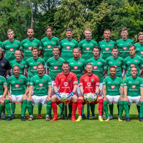 Fotografie Team 1. FC Schweinfurt 2018 / 2019