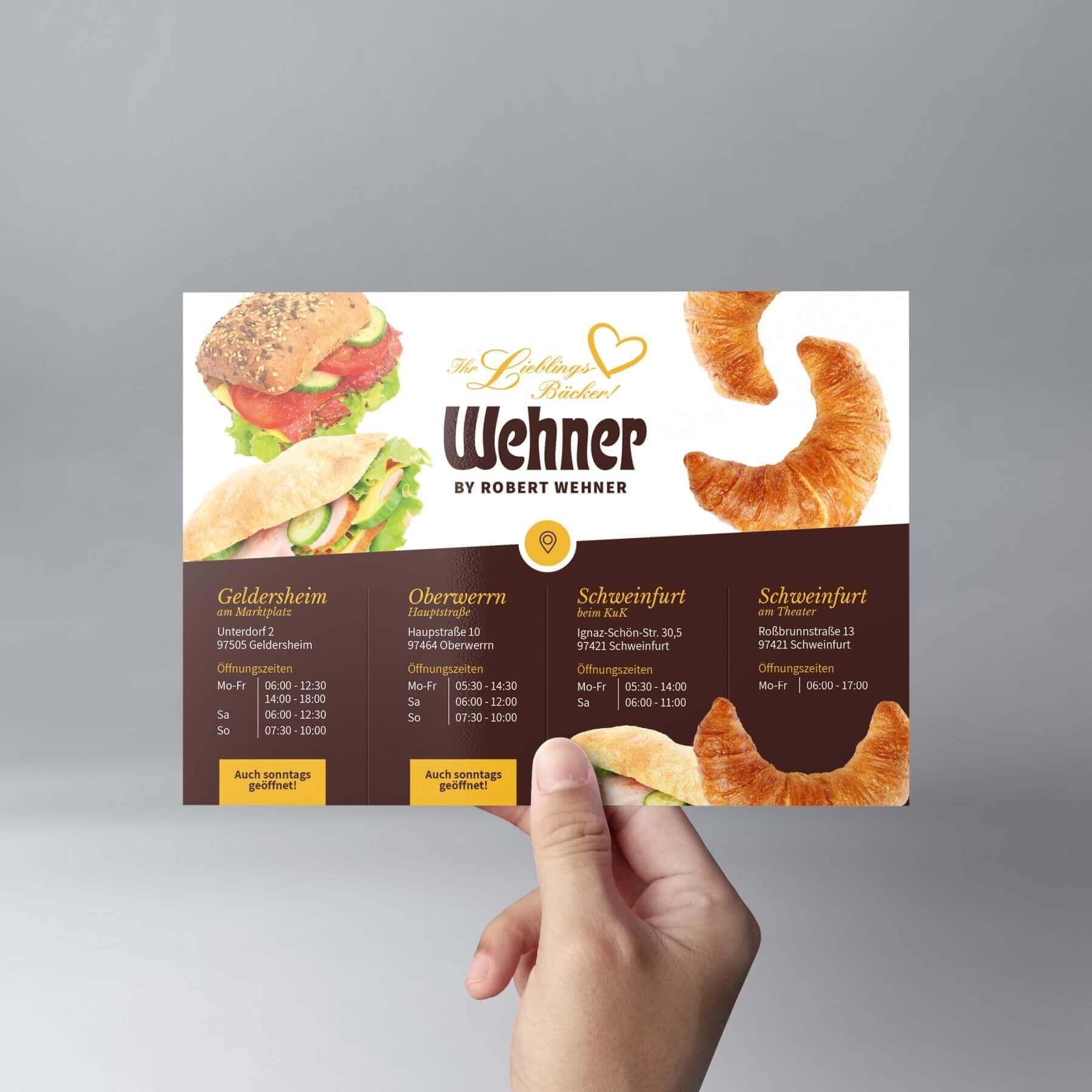 Wehner Flyer Design